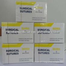 Suture de catgut chromique chirurgicale