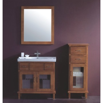 Wooden Bathroom Cabinet (B-327)