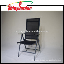 Freizeit Stahlrahmen 7 Gänge Verstellbarer Klappstuhl