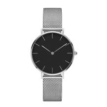 Costom Dial Watch Ladies Mesh Wrist Watch
