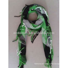 Plaid fashion arab scarf for men