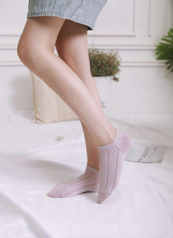 100% cotton short socks