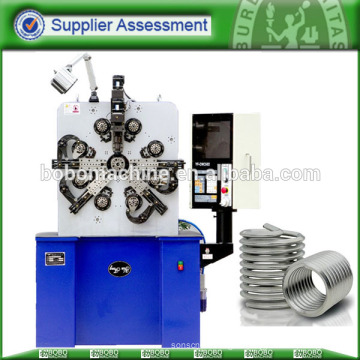 CNC heli bobine formant vis en acier inoxydable filetage fil insertion machine