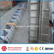 Escalera unipolar, escalera de aluminio lateral simple, escalera recta de aluminio