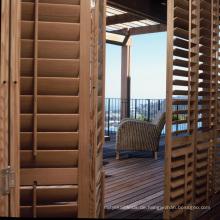Luxus-Qualität benutzerdefinierte Polymer Timber Shutters Plantation