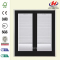 Jet Black Prehung Inswing Mini Patio Door