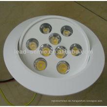 Neues Produkt verstellbare Einbauleuchte 12W