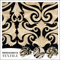 Classical design embroidered pure velvet fabric for clothing