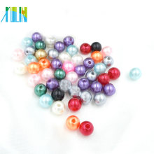 Wholesale Lot Natural Mixed-color Pearl Round Spacer Loose Bead 3MM 4MM 6MM 8MM 10MM 12MM 14MM 16MM