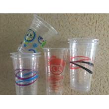 Tasses en plastique imprimées