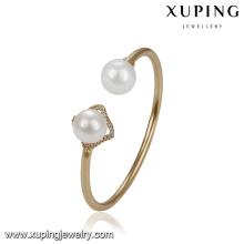 51764 Brazalete de la perla de la manera más nueva de la joyería al por mayor del diseño para las mujeres