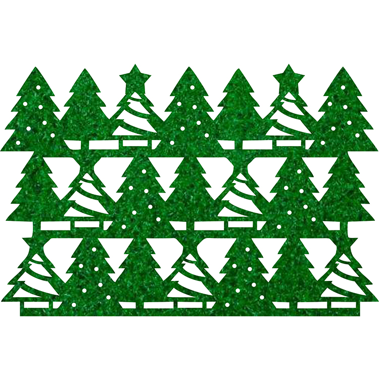 Christmas Tree Table Mat