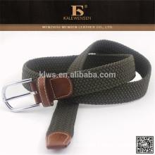 Unique design mens canvas fashion fabric belt