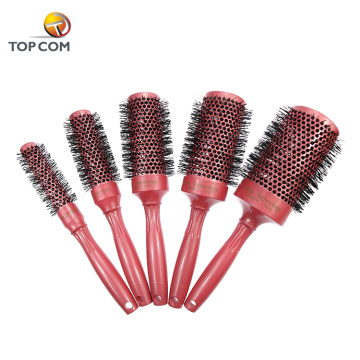 Hair styling combs and ceramic round hair brush