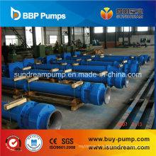 Jc / LC / Jck pompe à puits profond de turbine verticale d'axe de longue ligne
