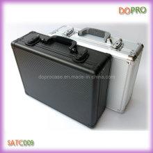 Material de alumínio listrado caixa de ferramentas de alumínio (satc009)