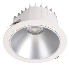 Waterproof Ultra Slim IP44 IP65 Anti Glare 20w 30w cob smd Recessed Black LED Downlight