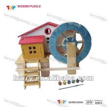 2012 новые DIY деревянные игрушки