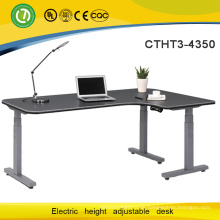 3 legs electric height adjustable table height adjustable desk
