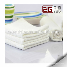 Heißes verkaufendes kundenspezifisches Firmenzeichen vorhandenes reines weißes Hotel-Baumwollbad-Tuch