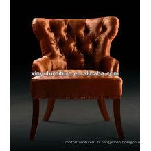 Hot sale european hotel guest chair chaise XY2425