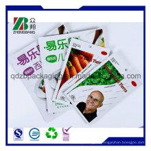 China Hersteller Bottom Gusset Neues Produkt Aluminium Folie Tasche Seed Bag