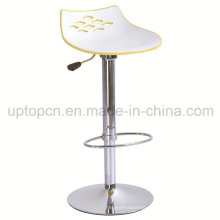 Adjustable Plastic Stainless Steel Cafe High Bar Chair (SP-UBC143)