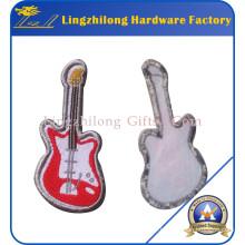 Patch de guitare tissé de sécurité machine gratuit