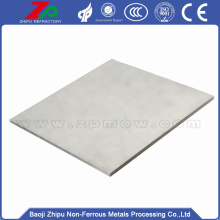 Hot product polished molybdenum sheet