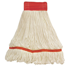 Loop-End Commercial String Mop Head, 5 Inch Headband, Large,
