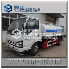 Camion de Sprinckle d'eau de camion de réservoir d'eau d'Isuzu 4X2 5cbm