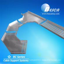 UL CE Hot Dip Galvanized Perforated Cable Tray Price Listed Sizes