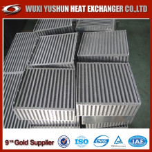 Hot Selling Customized Aluminum Water Air Intercooler Core