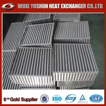 Heißer Verkauf kundengebundener Aluminiumwasser-Luft-Zwischenkühler-Kern