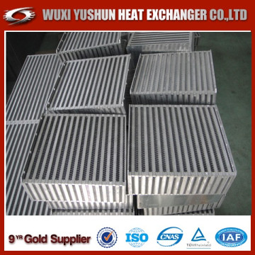 Hot Selling Customized Aluminum Water Air Intercooler Core