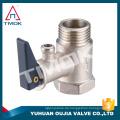 TMOK Sicherheitsventil aus Messing für Sicherheitsventil der Warmwasserbereiter CE-Zulassung