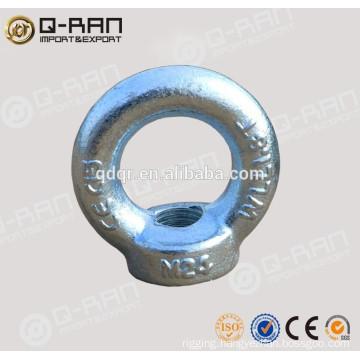 Drop Forged Safety Electric Eye Bolt with Wing Nut DIN580/582