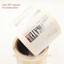 hochwertiger kosmetischer Etikettendruck der Gewohnheit mit Laminierung, por UV, Laser, Goldstempel