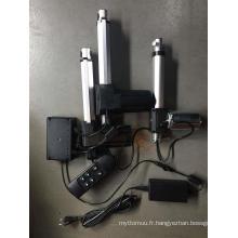 3 servomoteurs pour lit médical ou électrique
