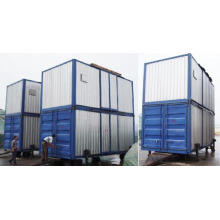 Containerized Mobile Weighing and Bagging Unit