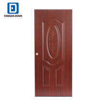Fangda cheap MDF PVC flush door price