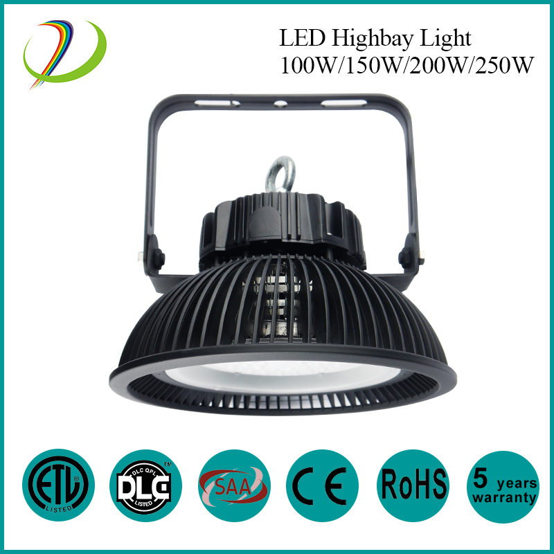 Aluminum Waterproof LED High Bay Light 100w