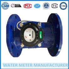 Dn200mm Larger Diameter Iron Material Woltman Water Meter