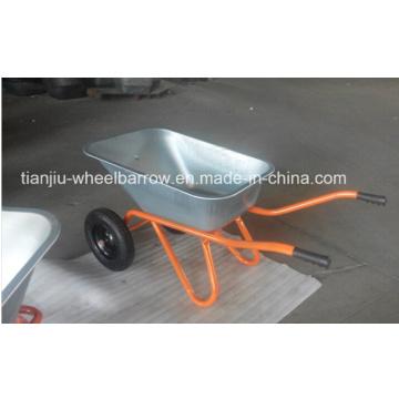 O carrinho de mão de roda, galvaniza o carrinho de mão de roda Wb6418s