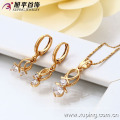 62961-Xuping Mother's Day Wholesale Jewelry Woman Jewelry Set Promotion