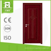 El último tipo puerta de madera de alta calidad de la venta de la puerta de madera de melamina caliente