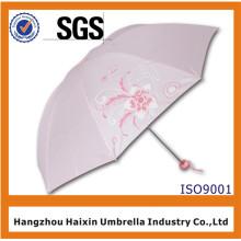 Günstigstes Blumenbild Regenschirm Regen Hersteller China Xiamen