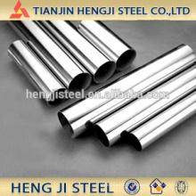 Tuyaux en acier galvanisé chaud avec une longueur différente