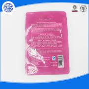 Bolsa de plástico de polietileno de alta densidad con manija y la impresión