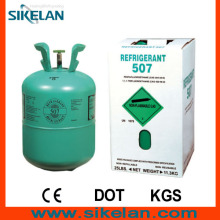 Colorless, Not Cloudy, No Smelly R507 Mixed Refrigerant Gas